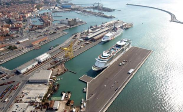 raccordo ferroviario porto Livorno