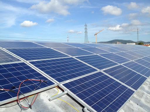 Tetto fotovoltaico dr ferroviaria